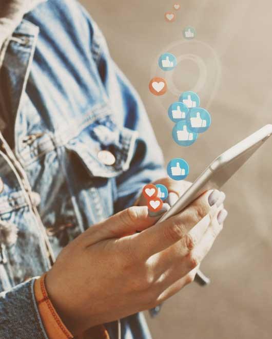 Strategy of social media marketing